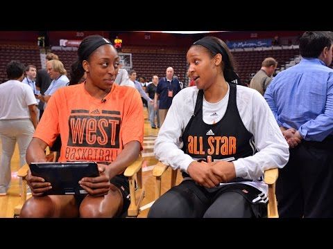#WNBALive presented by Boost Mobile: Maya Moore Answers Fan Questions