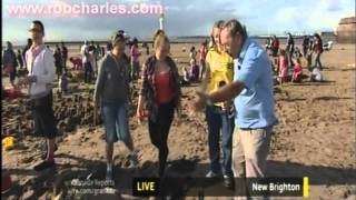 FRED TALBOT AT THE SEASIDE