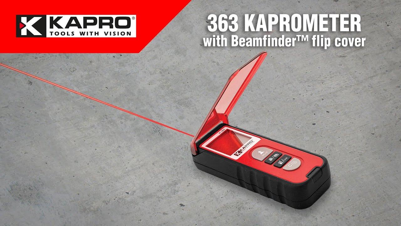 363 Kaprometer with Beamfinder™ flip cover