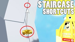 CUTTING CORNERS!! Staircase Shortcuts & Comparisons | Tower of Hell ROBLOX