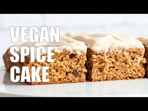 Vegan Spice Cake With Cream Cheese Frosting | Vegan Richa Recipes