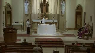 Fifth Sunday of Lent - 10:30 AM Sunday Mass at St. Joseph's (3.21.21)