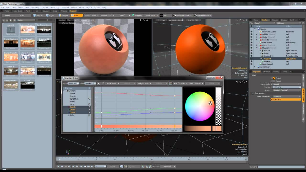 Modo Creating A Car Paint Shader Youtube