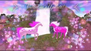 New Accessories + Heart Horse! Valentine's Update! [Horse World] - Roblox