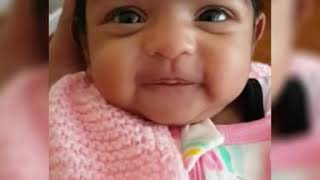 Baby smile