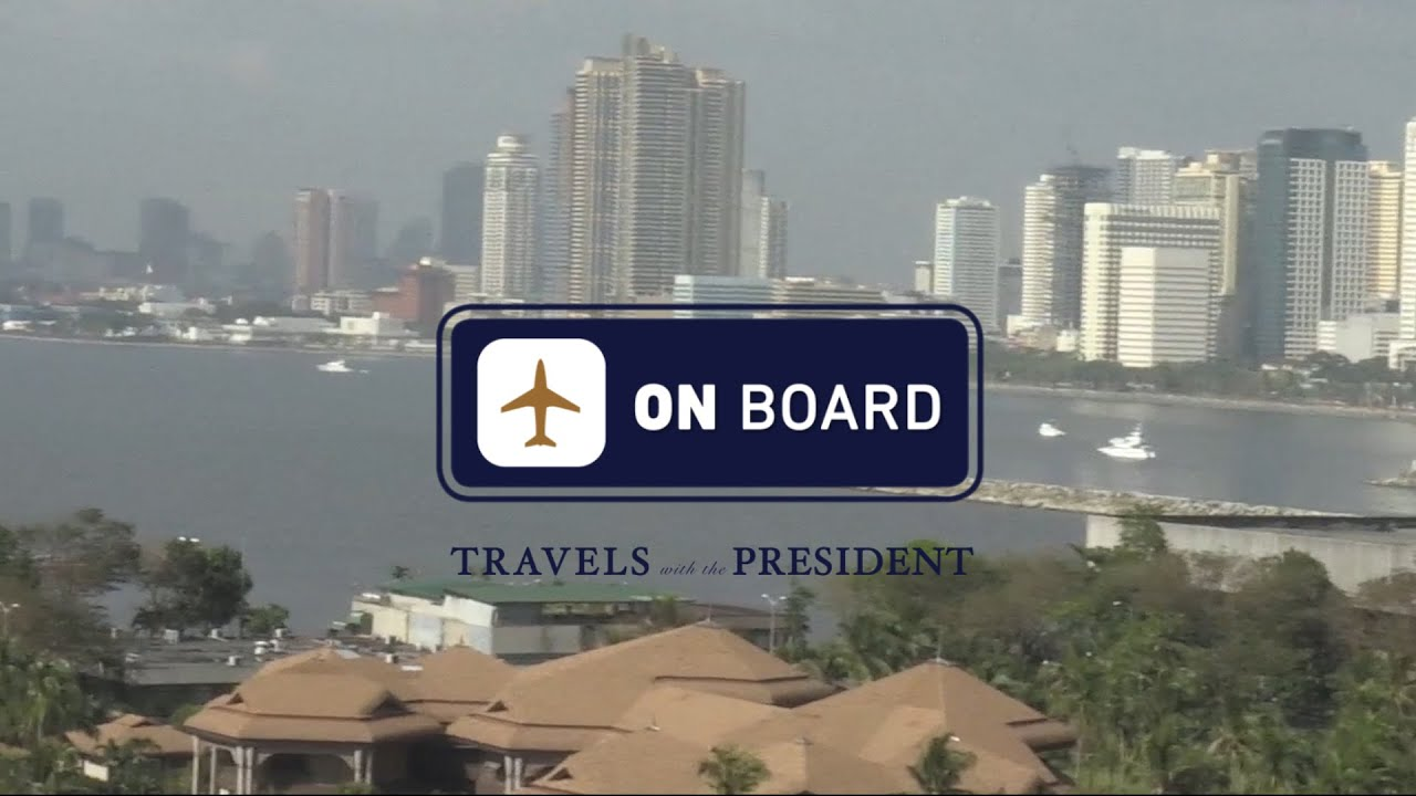 On Board with Josh Earnest: Travels with the President in the Philippines