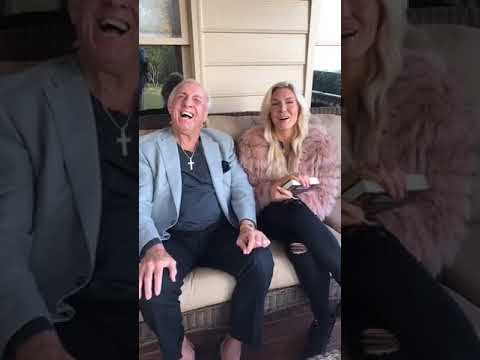 Charlotte Flair & Ric Flair Facebook Live Interview 11/22/2017