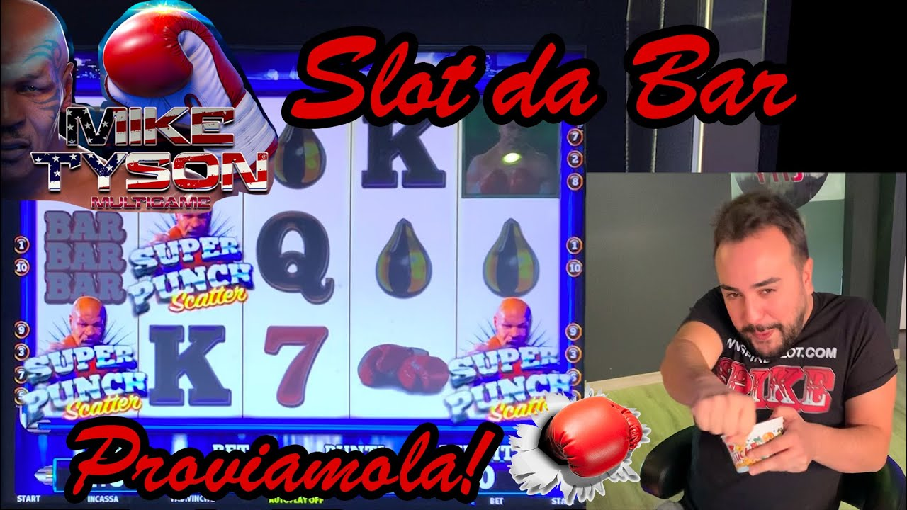SLOT MACHINE da BAR - Proviamo la MIKE TYSON MULTIGAME????????????‍???????? (Multigioco Bakoo)