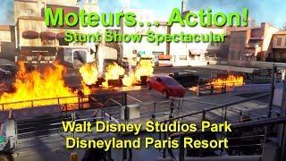 Moteurs… Action! Stunt Show Spectacular Complete Show Walt Disney Studios Park Disneyland Paris