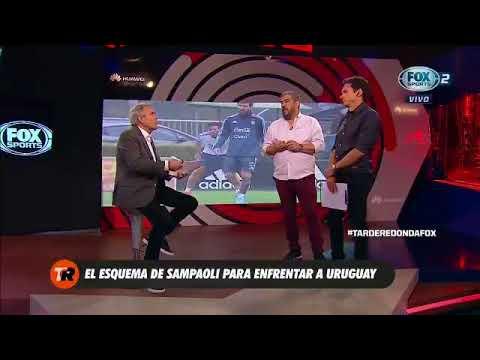El análisis del Cai Aimar del esquema elegido por Jorge Sampaoli para enfrentar a Uruguay
