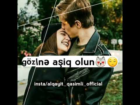 Bir qadini cox sevin ( romantic whatsapp durum aradiginiz 2018)
