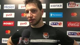 Александр Пикар после матча «Локомотив» - «Амур» (22.01.18)