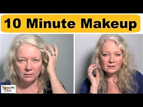 10 Minute Hooded Eye Makeup for Mature Over 50