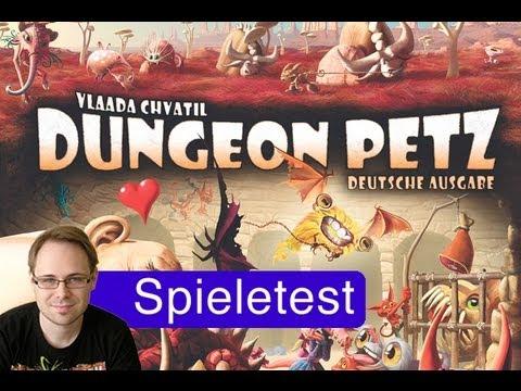 Dungeon Petz (Spiel) / Anleitung & Rezension / SpieLama