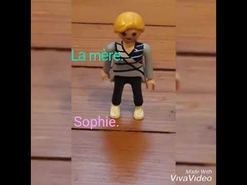 Ma Famille Playmobil Et Leur Maison.👨👩👧👧🏡