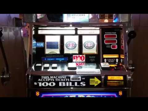 100 dollar slot machine videos