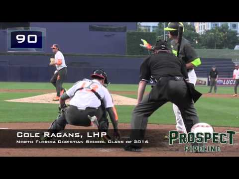 Cole Ragans Prospect Video, LHP, North Florida Christian School Class of 2016