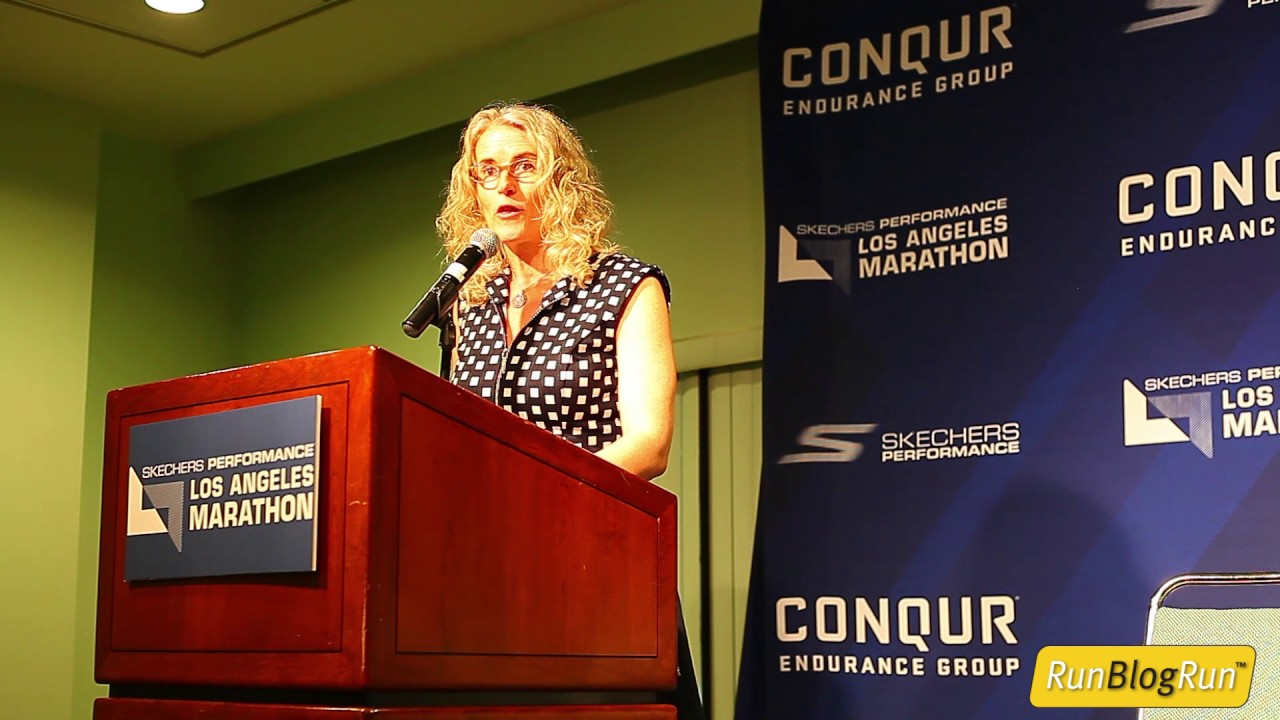 LA Marathon Press Conference Part 1 - Intro & Tracey Russell