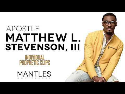 Apostle Matthew Stevenson Pt 2- Mantles Conference '18