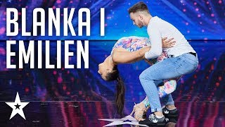 Blanka and Emilien have stunning chemistry!│Supertalent 2018│Auditions