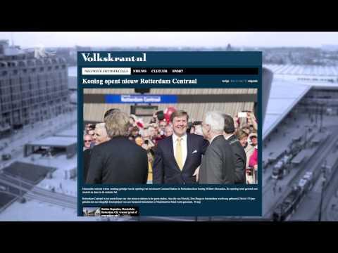 Rotterdam Centraal uitgelicht in de media