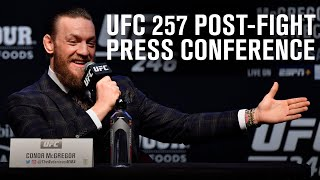 UFC 257: Post-fight Press Conference