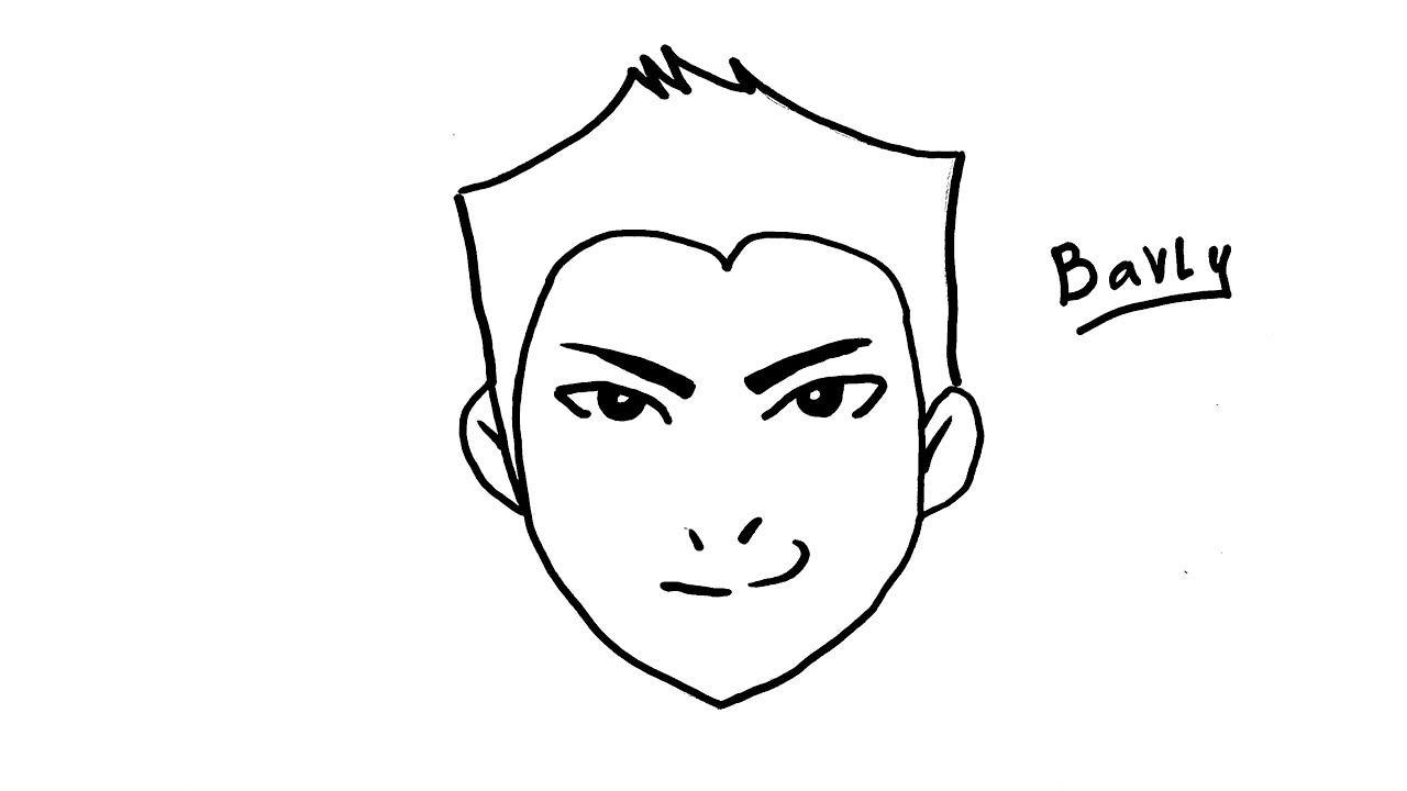 تعليم رسم انمي كيفية رسم ولد بالخطوات للمبتدئين Youtube