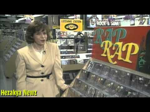 CBS NEWS SPECIAL: Gangsta Rap Lyrics UNDER ATTACK In The Early 90sRare Footage