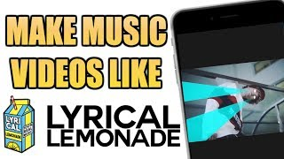 MAKE YOU MUSIC VIDEO LIKE COLE BENNET WITH JUST YOUR PHONE!!! (FREE/EASY TO USE)