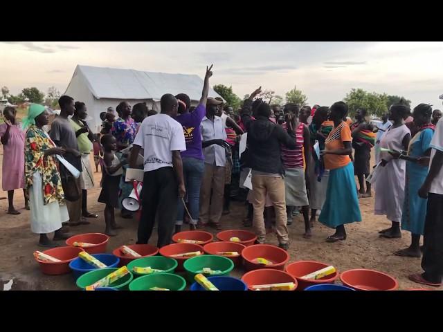 Sneak peek of our visit to Bidi bidi refugee camp near the South Sudan border