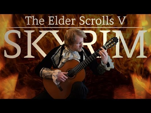 The Elder Scrolls V: Skyrim - Around the Fire (Acoustic Classical Guitar Fingerstyle Cover) thumbnail