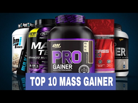 Top 10 Mass Gainers – Best Weight Gainer of 2017