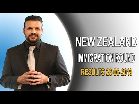 NEW ZEALAND IMMIGRATION ROUND RESULTS (26-06-2019)