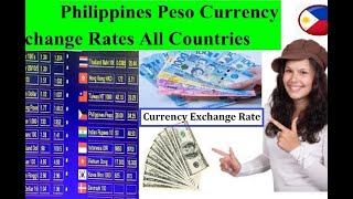 Philippines currency Exchange Rate PHP to usd | PHP to Pound | PHP to Rial | PHp to euro