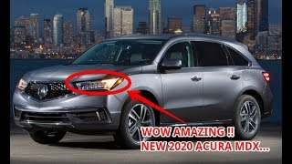 WATCH NOW!! 2020 ACURA MDX REDESIGN