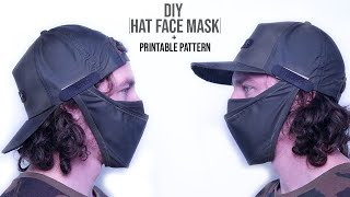 How to Make Fabric Hat Face Mask