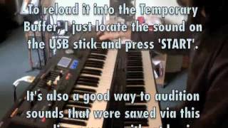 Roland V-Combo VR-09 keyboard (a few more sounds, tips and a little schmaltz - at no extra charge!))