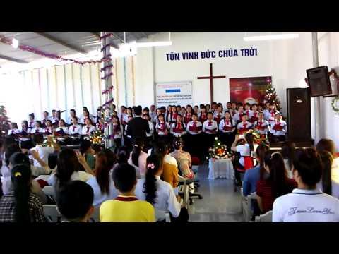 Điểm nhóm Thạnh phú tổ chức Lễ kỷ niệm Chúa Giáng sinh 2014