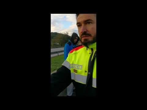 Huelga 8N en Cataluña: así se comportan los piquetes con quien quiere trabajar