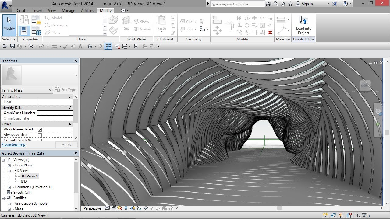 Parametric Shaded Walkway Youtube