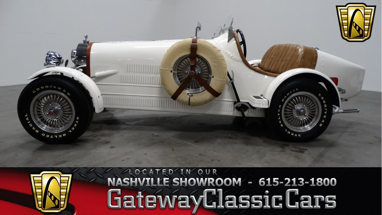 1938 Bugatti Replica - Gateway Classic Cars of Nashville #122 ...