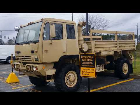 AWESOME LMTV M1078 2.5 TON MILITARY TRUCK  OVERVIEW Part 1