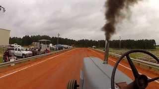 ricky clayborn international 560 turbo diesel forts pond tractor pull 7500lb