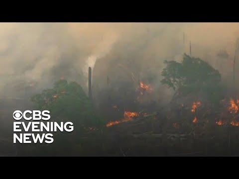 Brazil deploys 44,000 troops to battle Amazon fire