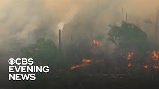 #amazon Brazil deploys 44,000 troops to battle Amazon fire