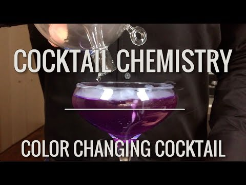 Advanced Techniques - Color Changing Cocktail