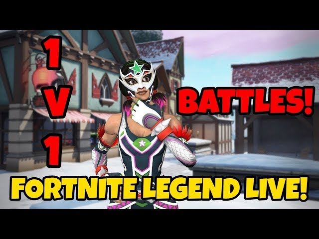 🔴 *LIVE* FORTNITE LEGEND LIVE 1V1 WITH MY VIEWERS! COME AND JOIN!