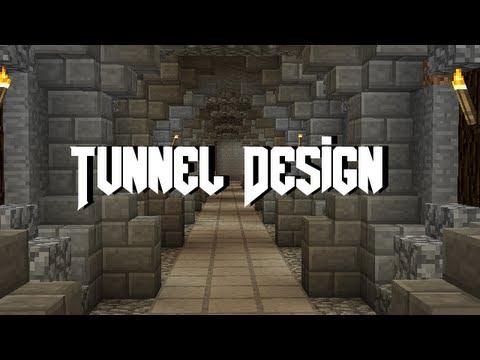 Minecraft Tunnel Tutorial Youtube
