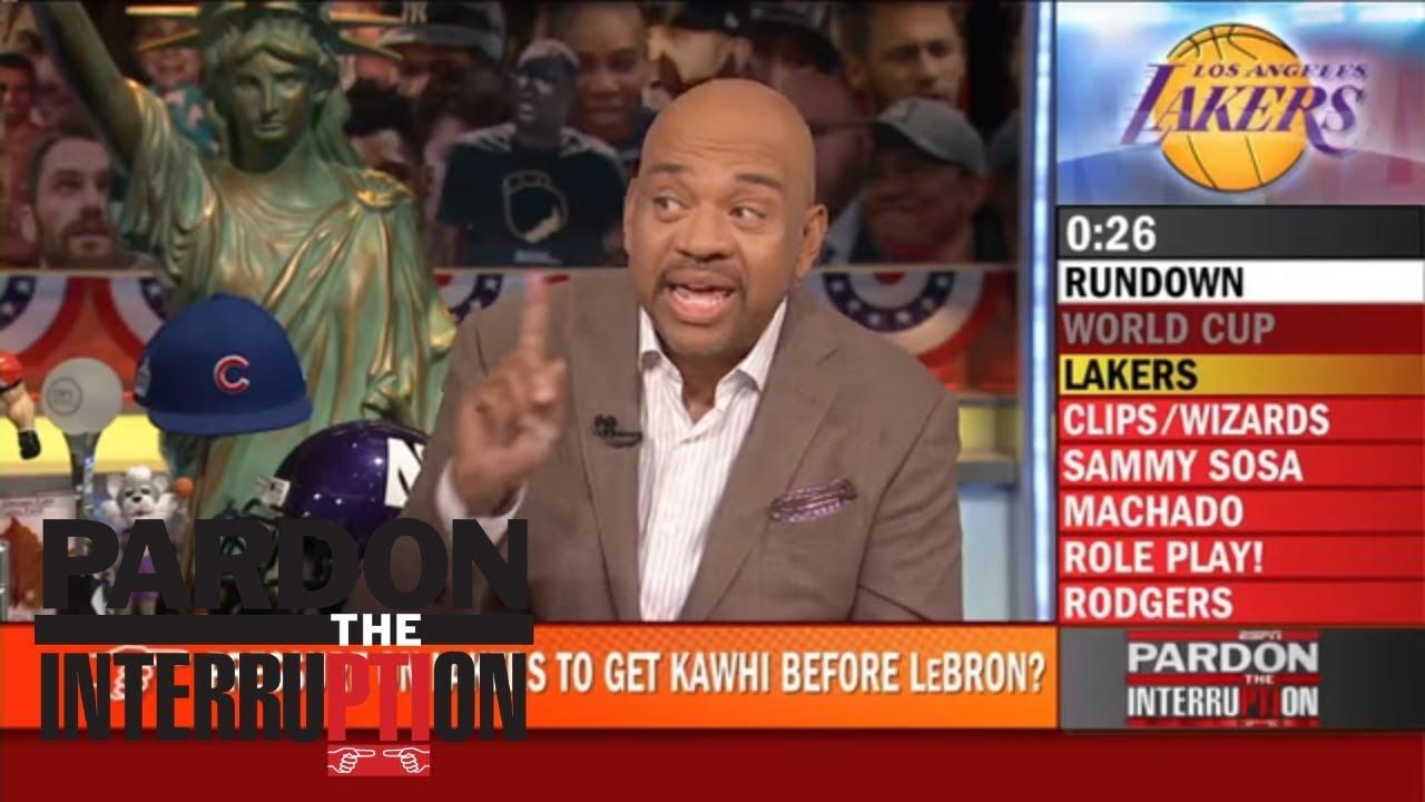 Lakers rushing to get Kawhi Leonard to also land LeBron James?   Pardon the Interruption   ESPN