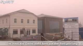 Haus des Gastes in Wenningstedt ist fast fertig gebaut